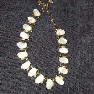 Vintage Coro freshwater pearl and gold necklace
